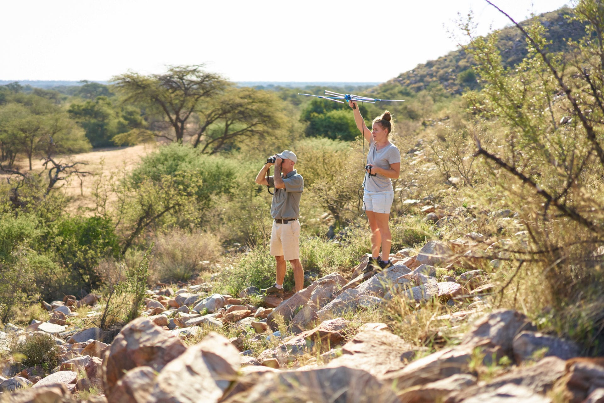 private wildlife research, Kalahari Conservation