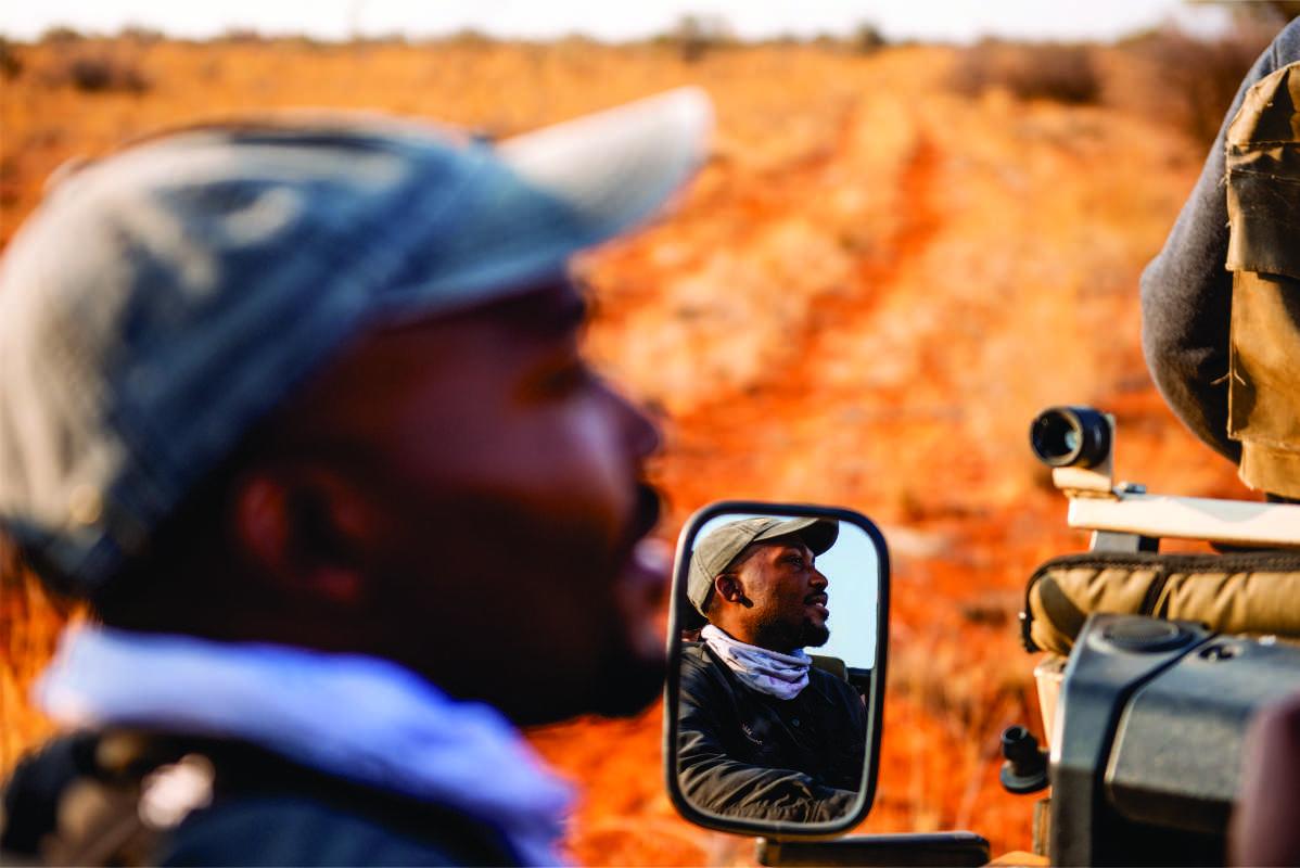 Prince Ngomane, Community, Tswalu Kalahari